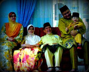 Abah..mama n angah's family