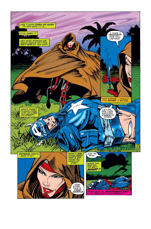 Captain America (1968) Issue #440 #392 - English 22