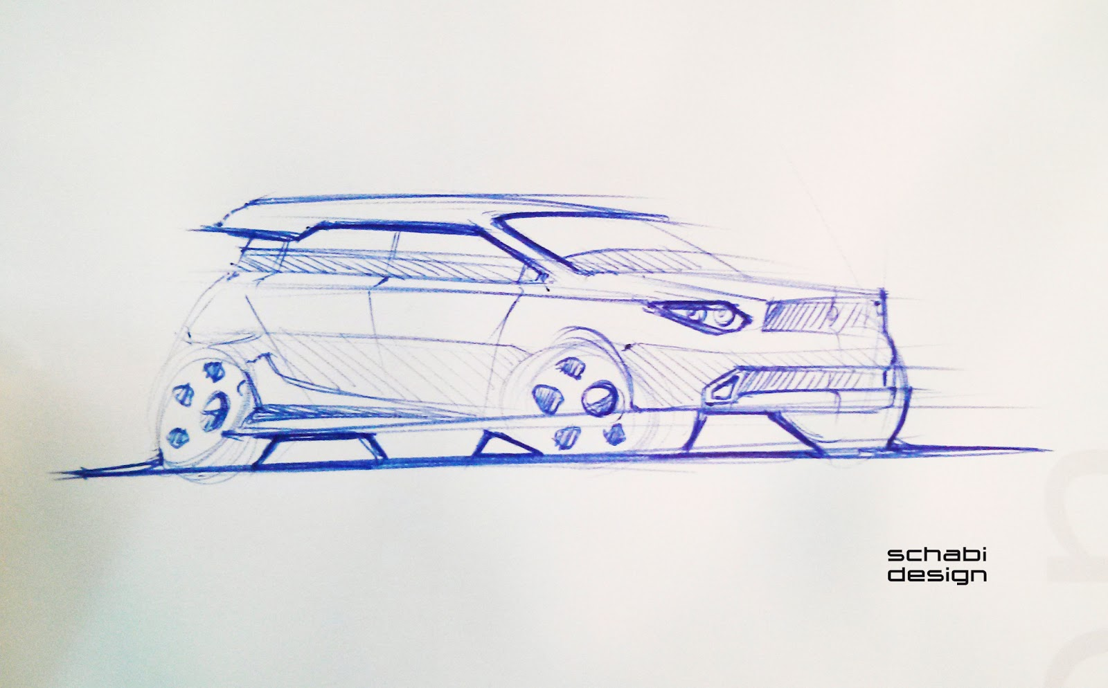 Schabi Design Sketch Site: SUV Car Sketch