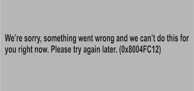 "Solusi Error kode 0x8004FC12 ""We're sorry, something went wrong"" ketika aktivasi Office"