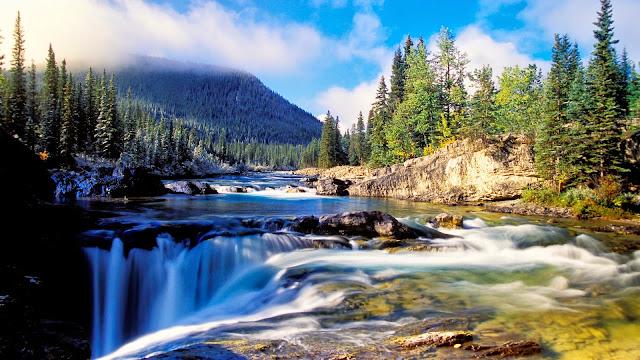 Waterfall nature wallpapers hd