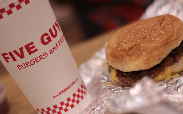 Hamburgueria Five Guys em Nova York