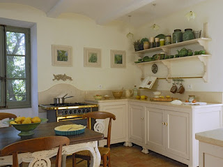 cocina casa provenza