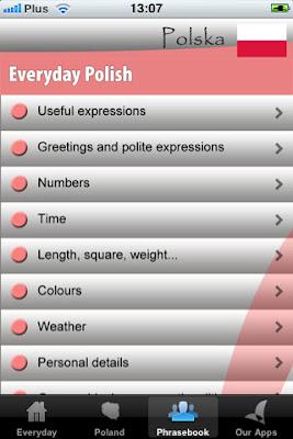 Phần mềm Learn Polish PLUS – học tiếng Ba Lan cho iphone