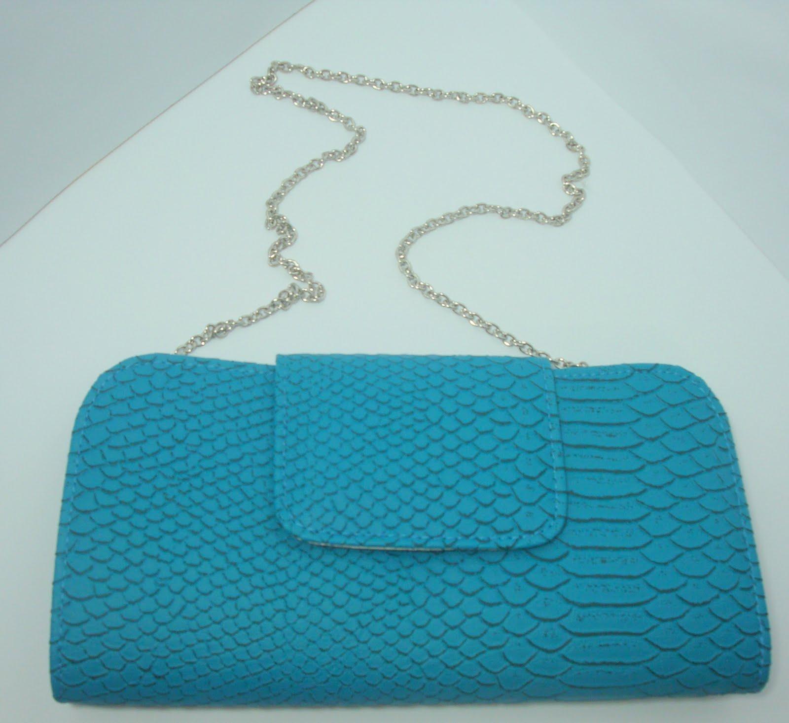 Bolsa Feminina Azul Turquesa : Trouxe na bagagem bolsa carteira pequena azul turquesa