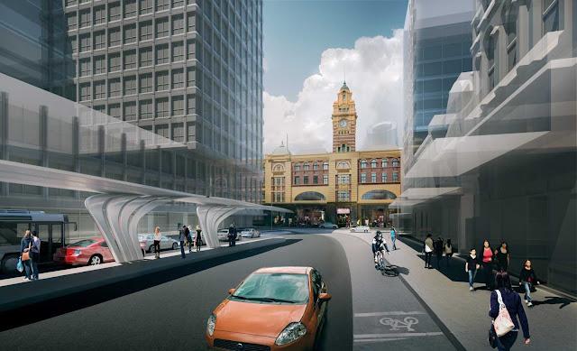 08-Flinders-Street-Station-Design-Competencia por Zaha-Hadid + BVN Architecture-