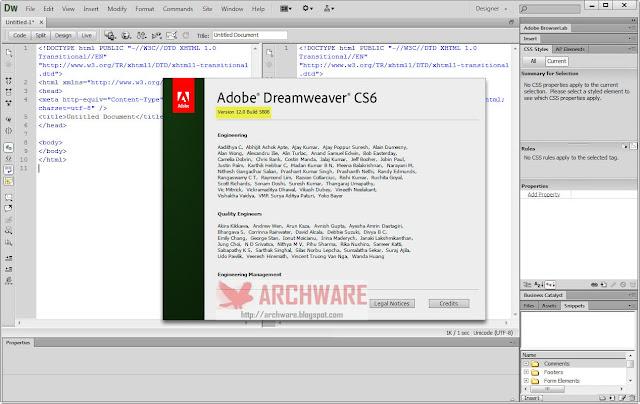 dreamweaver download free