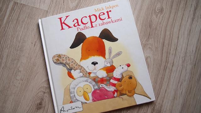 Mick Inkpen – Kacper i pudło z zabawkami – Wydawnictwo Papilon
