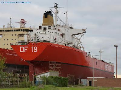 Dossier fotográfico: nuevos pontones de prácticos DF-19 y DF-20 de la Prefectura Naval. DF+19+en+Tandanor+II