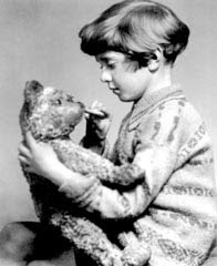 Christopher Robin with Pooh 1925