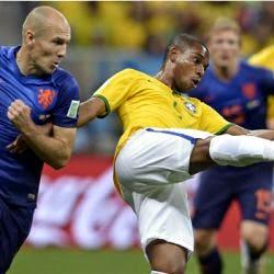 مشاهدة اهداف مباراة البرازيل وهولندا اليوم السبت 11/7/2014 كاس العالم