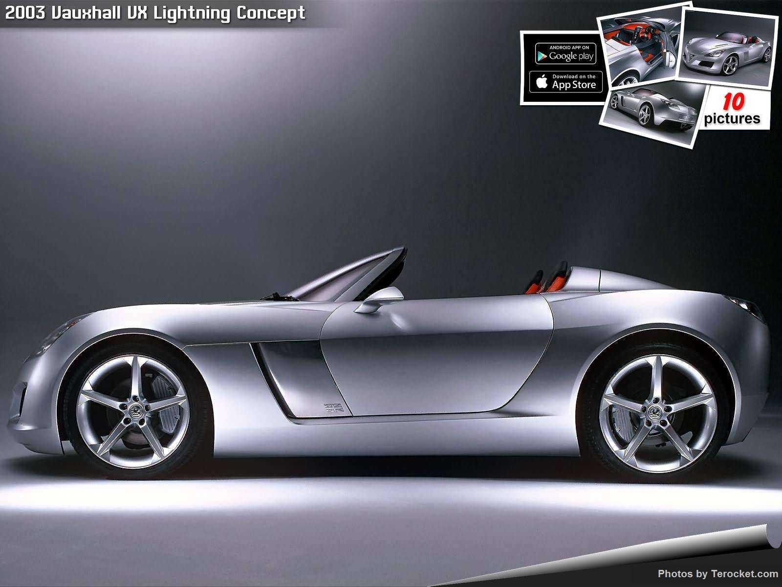 Hình ảnh xe ô tô Vauxhall VX Lightning Concept 2003 & nội ngoại thất