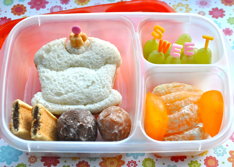 Sweet EasyLunchboxes cupcake bento lunch