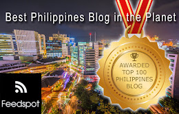 Feedspot Top 100 Philippines Blog