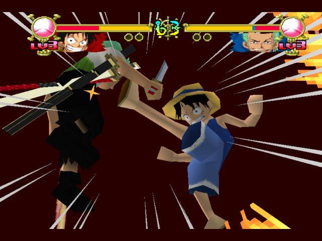 One Piece Grand Battle 2 PS 1 + Giả Lập
