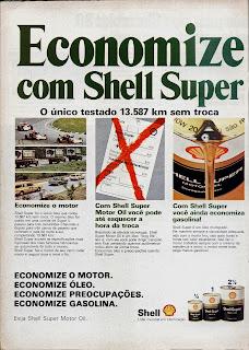 Anúncio Shell - 1979. 70s Shell ad