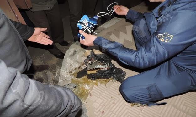 أمن الدقهلية يبطل مفعول قنبلة بمقابر الأقباط بميت غمر