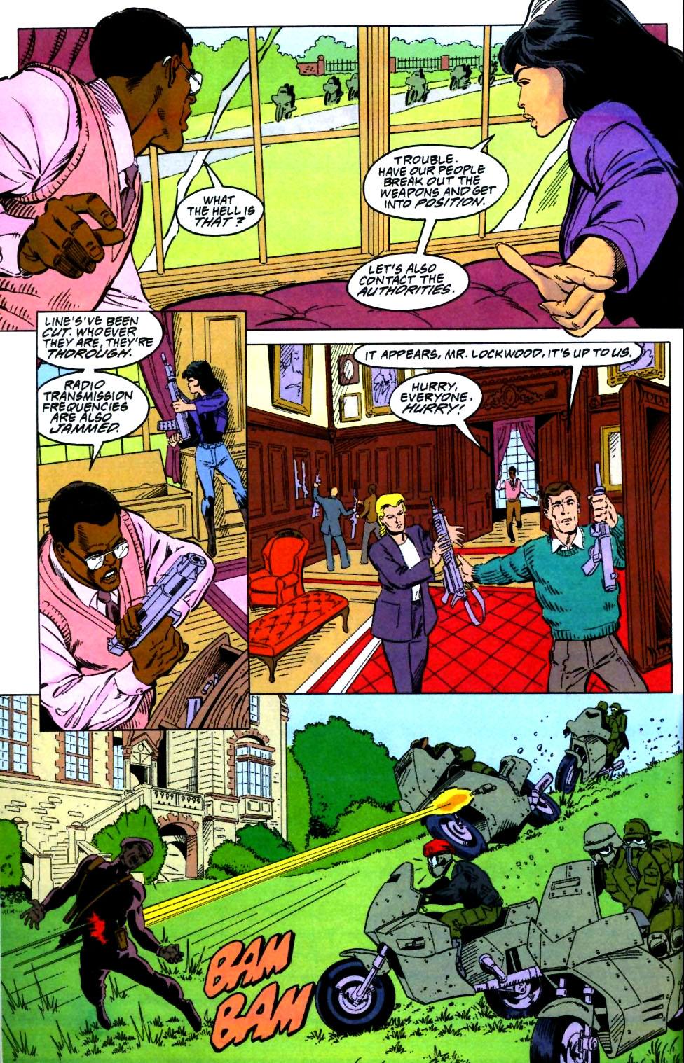 Deathstroke (1991) Issue #27 #32 - English 11