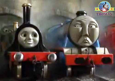 Tidmouth Thomas the tank engine and friends Emily the tank engine as good as big blue Gordon train