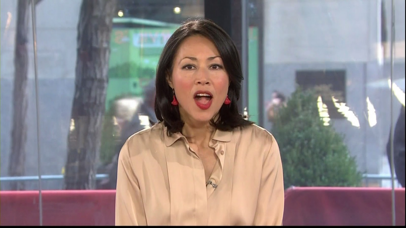 Show ann curry today