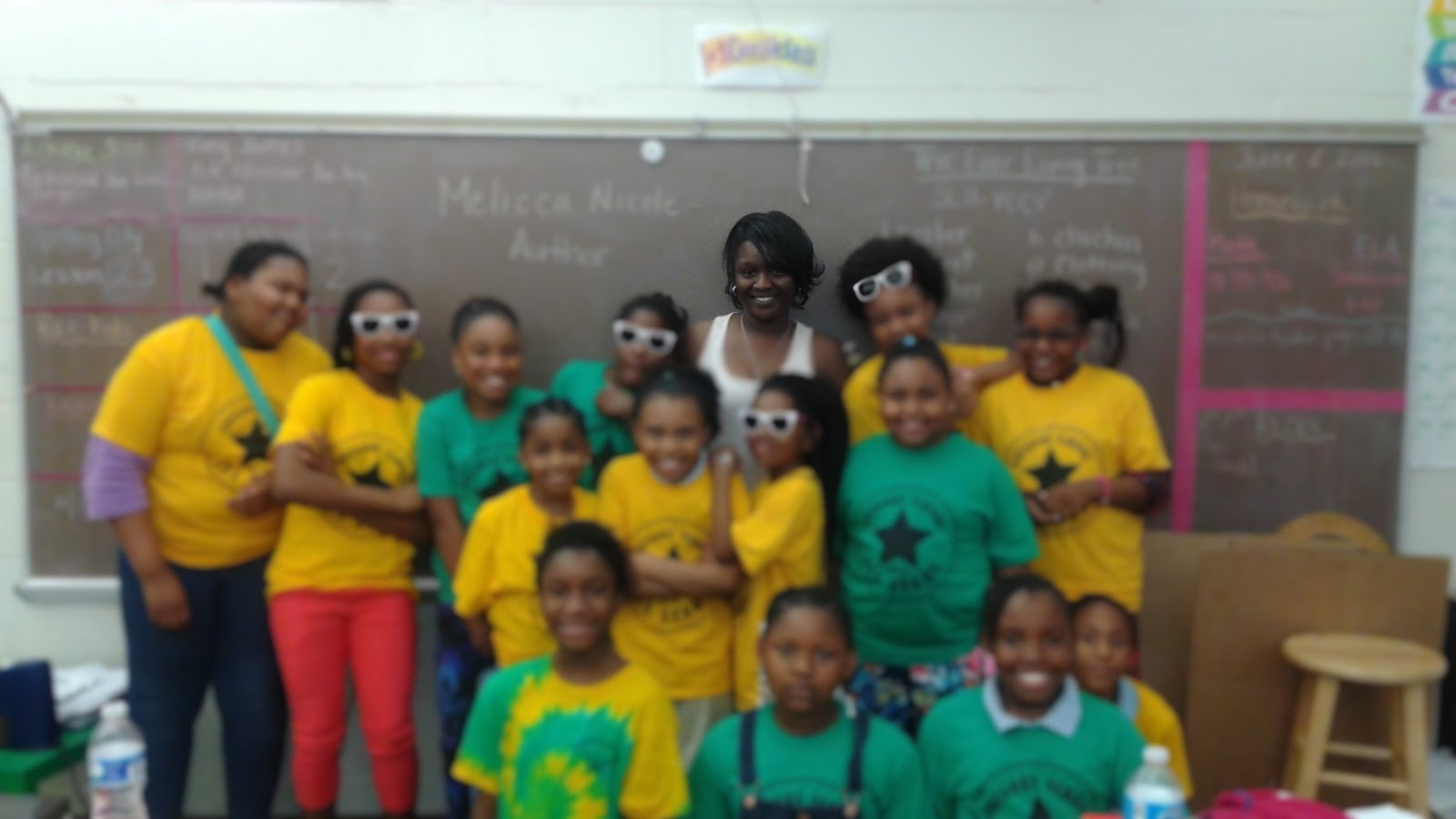 CCFA Trenton Children's Book Festival at Gregory Elementary- 3rd Class
