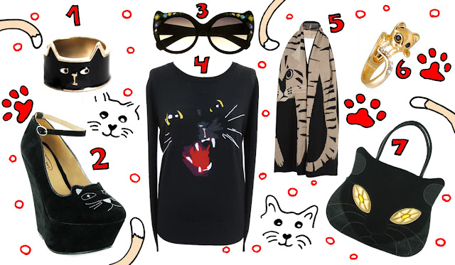 cats, fashion, Markus Lupfer, Irregular Choice
