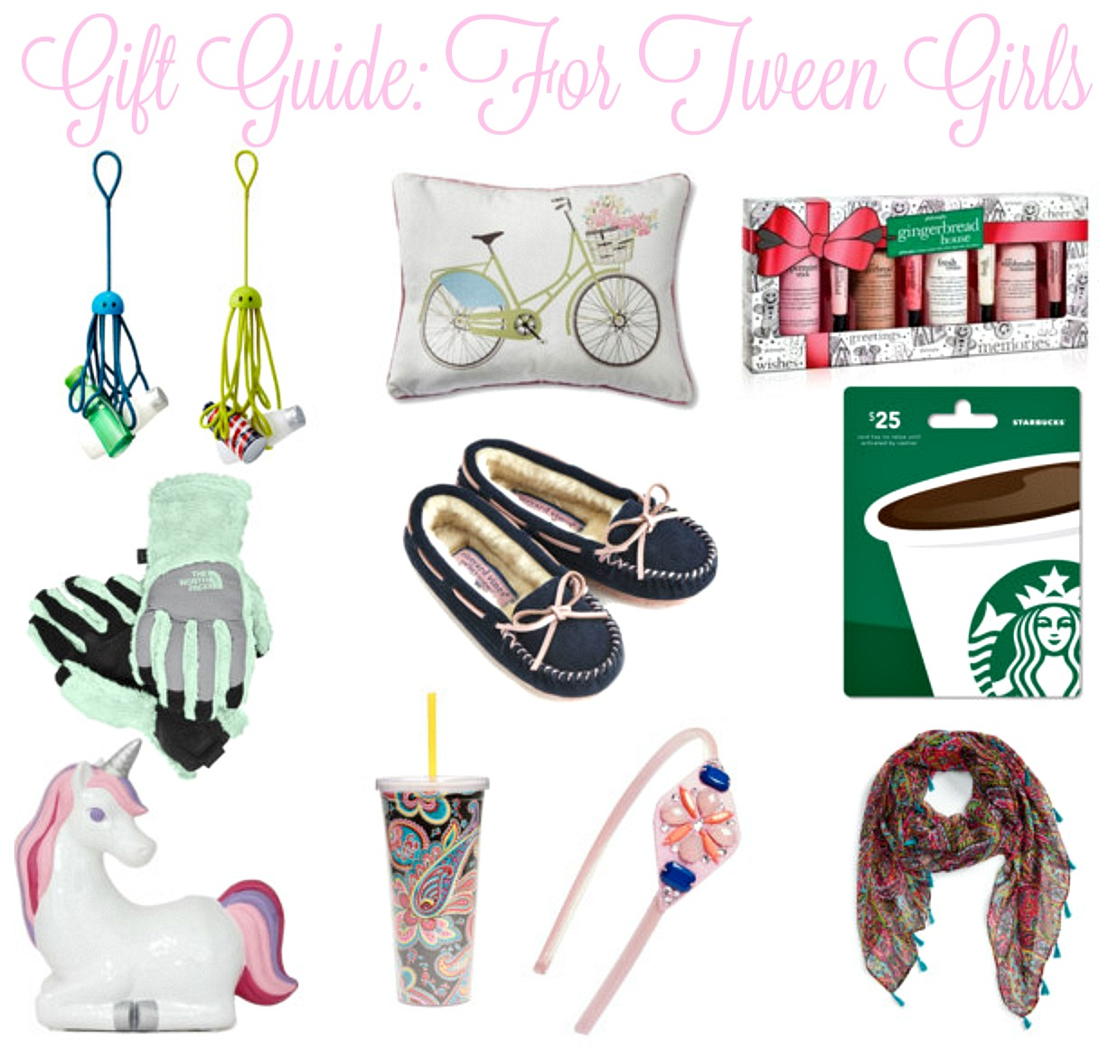 Gift Guide: Fun and Fab Gifts for Teen and Tween Girls - Pieces of ...