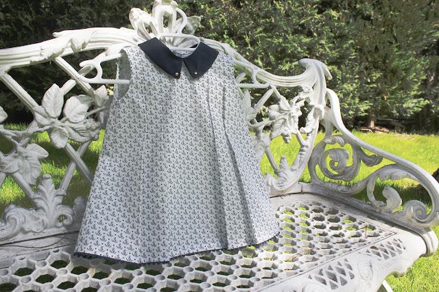 DIY ropa bebe como hacer vestido niña patron