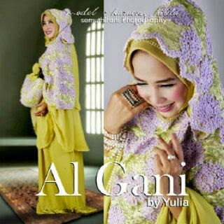 Mukena Style Baju Muslim Cantik Harga Murah Mukena Al Gani