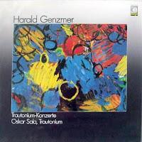 Trautonium Konzerte, el álbum de 1986 publicado por el sello Wergo con Harald Genzmer y Oskar Sala