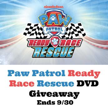 Paw Patrol DVD Giveaway