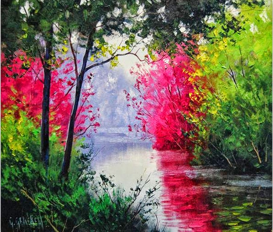 Dibujos para pintar al oleo dibujos para pintar - Pintar en lienzo para principiantes ...