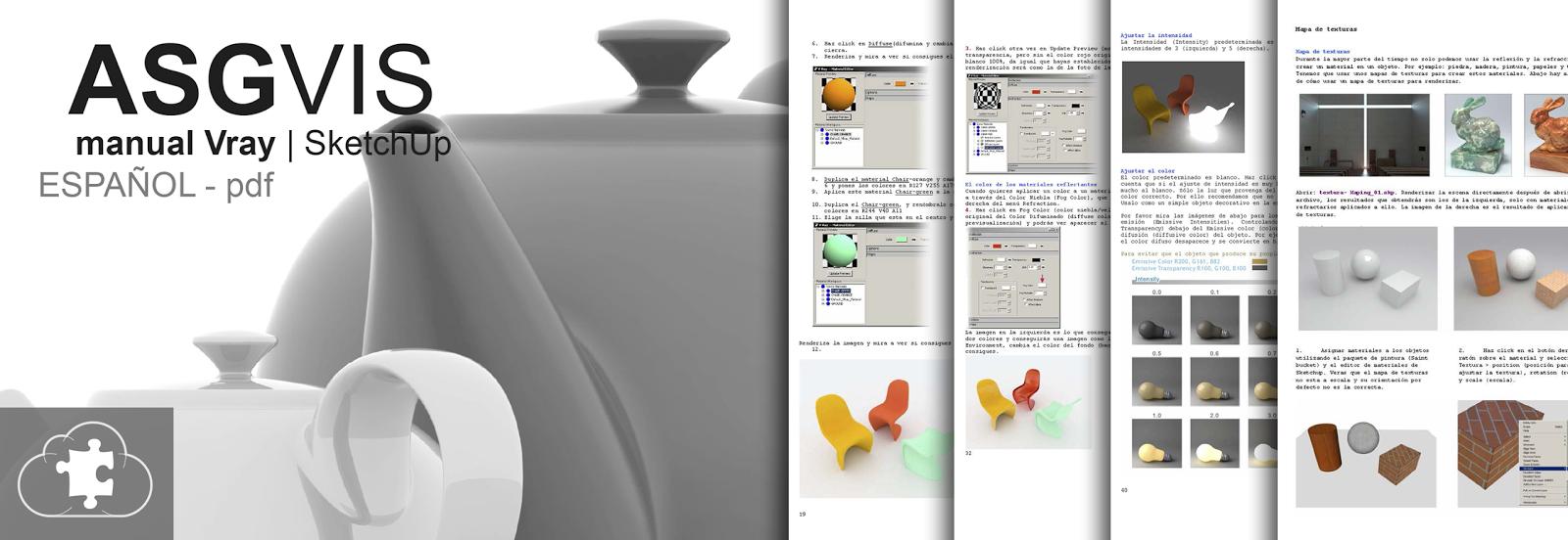 manual Vray | SketchUp | ASGVIS | pdf - ESPAÑOL
