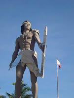photo - statue of lapu lapu, mactan shrine