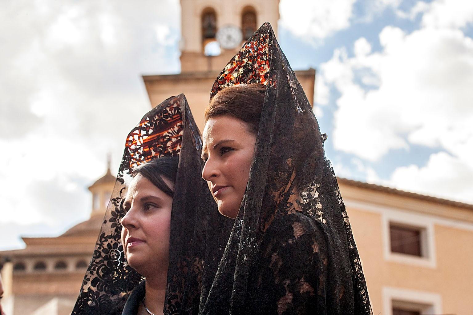 Mantillas de Jueves Santo, Jumilla