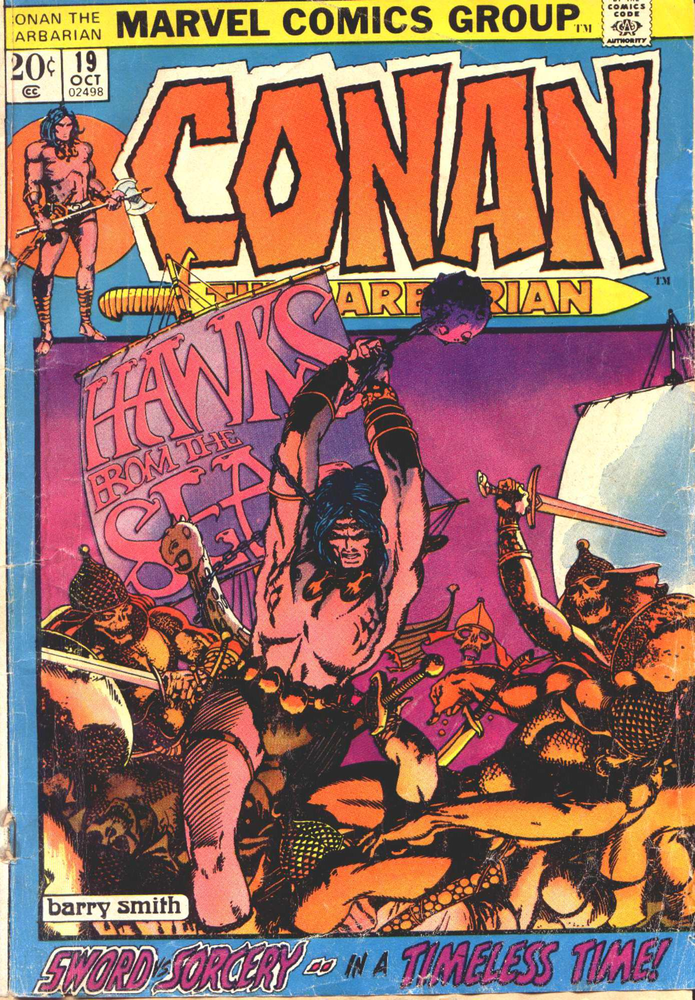 Conan the Barbarian (1970) 19 Page 1