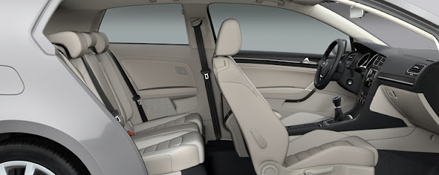 2013 All New Golf - 3 doors - interior