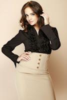 Camasa eleganta, de culoare neagra ( )