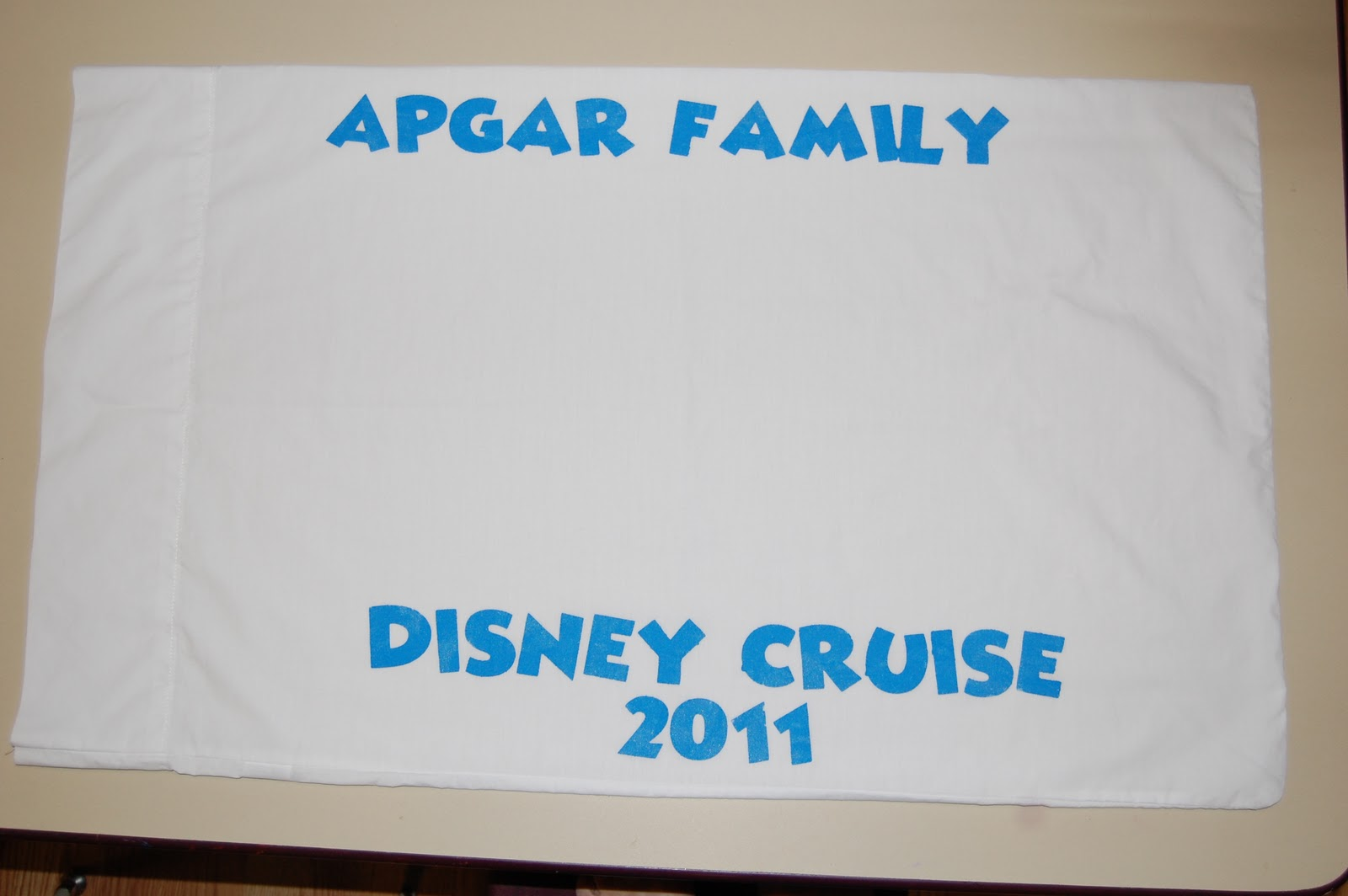 Scrappin My Stress Away Disney Cruise Autograph Pillowcases