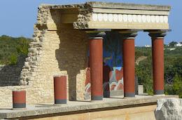 PALACIO DE KNOSSOS, CRETA: INETRACTIVO