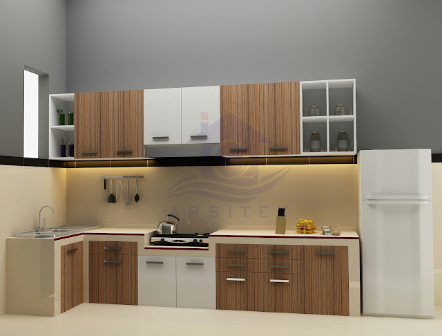 Desain Interior Dapur Rumah Ibu Ida Karanganyar