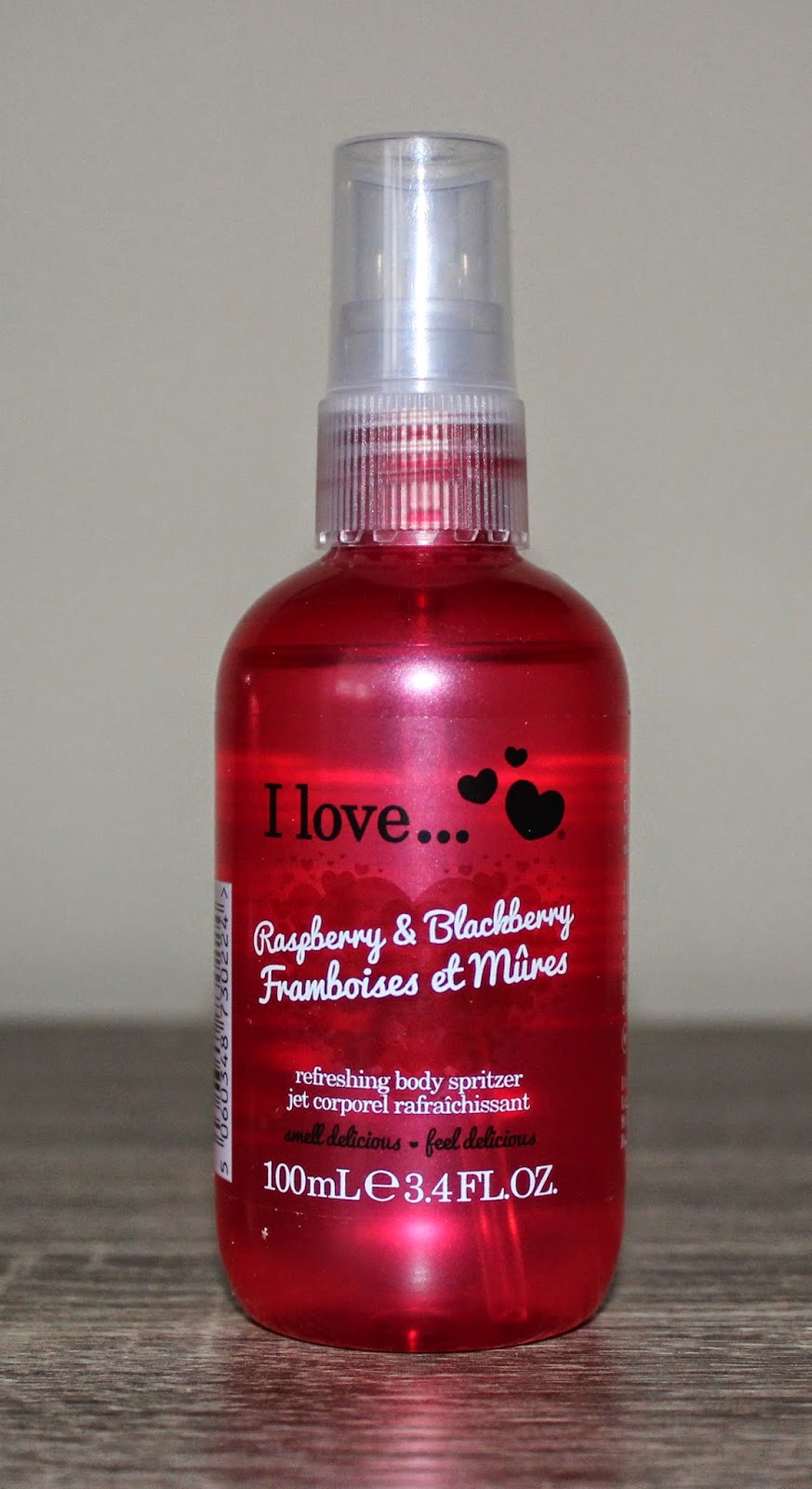I Love... Raspberry & Blackberry Refreshing Body Spritzer