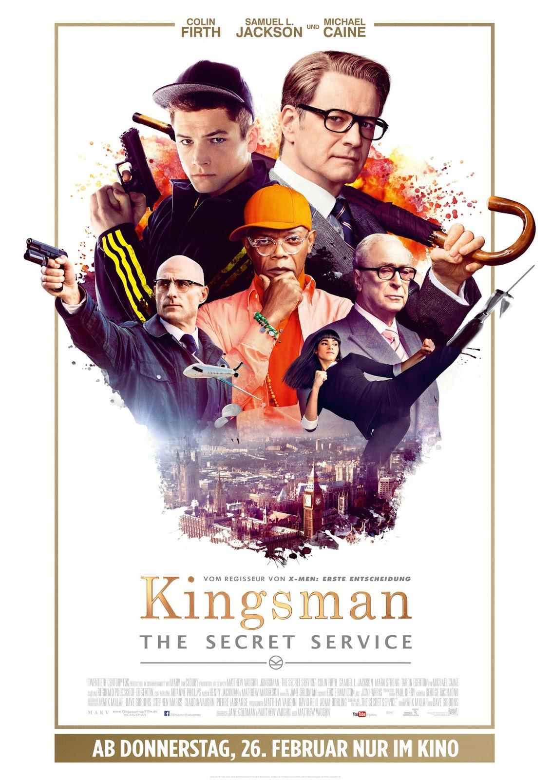 Kingsman Plakat Poster