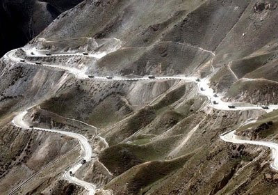 Sichuan Tibet+Highway 3 tour 10 Most Dangerous Roads in the World