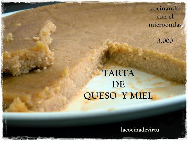 http://lacocinadevirtu.blogspot.com.es/2013/09/tarta-queso-y-miel-microondas.html