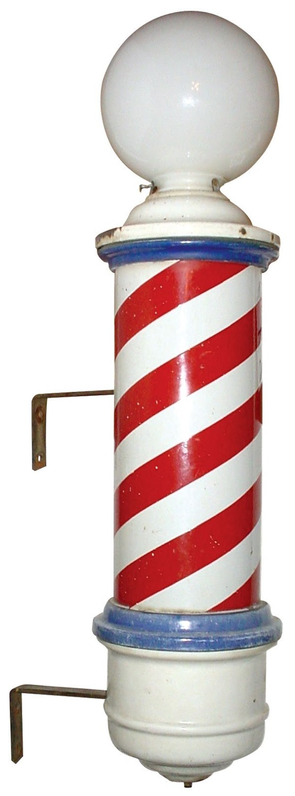 Antique barber shop sign - Antique Barber Poles