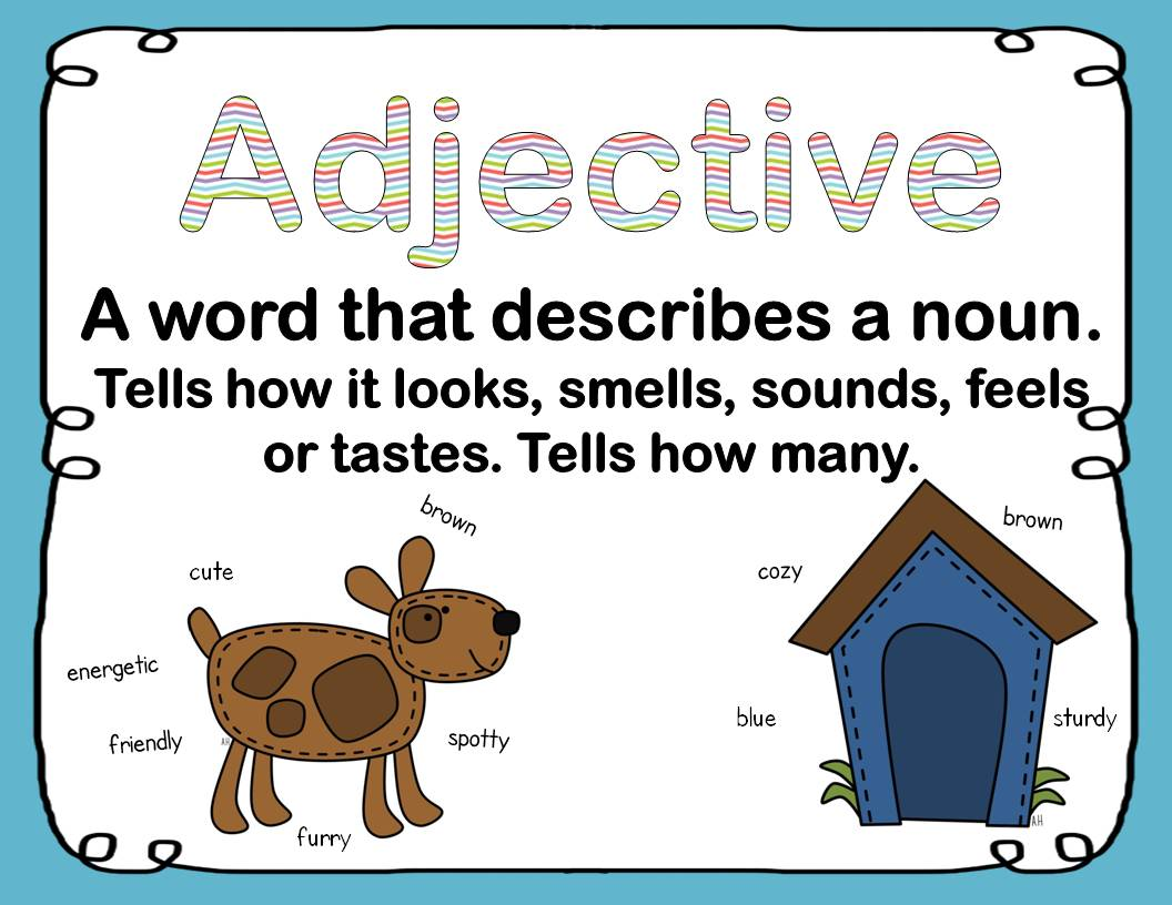 Mentor Texts - Teaching Adjectives and a Freebie - Elementary AMC