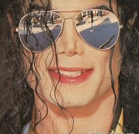Michael Jackson Wearing Shades