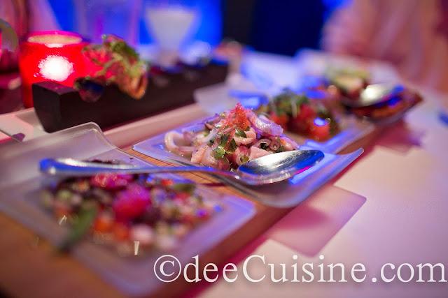 Quartet Ceviche Tasting
