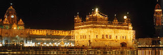 Darbar Sahib on a Gurpurab Night